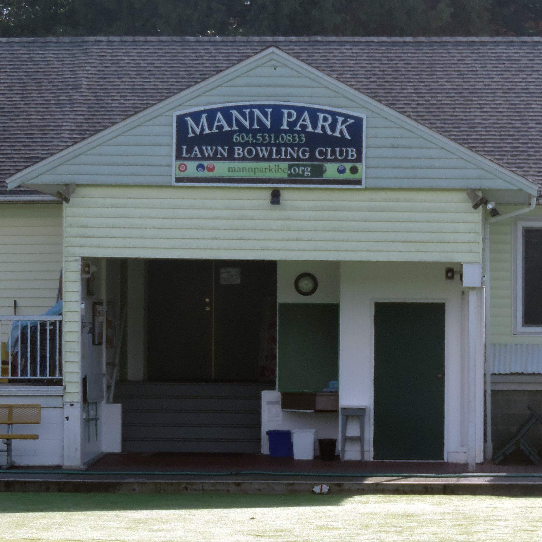 Mann Park Bowling Club building - location of White Rock square dance lessons
