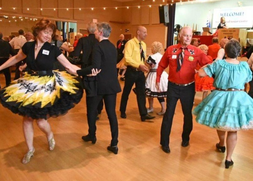 Surrey Square Wheelers Dancers - Courtesy Langley Times